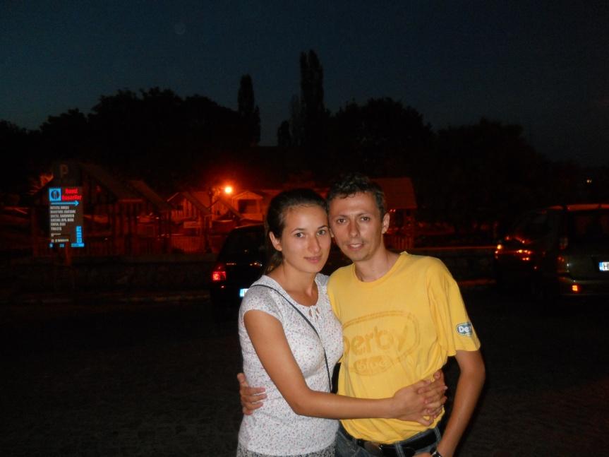 impreuna cu sotia mea scumpa la Hunedoara